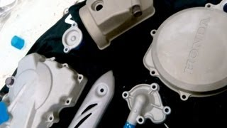 POWDERCOATING ENGINE COVERS PART 1