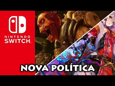Nintendo Switch: Jogos mais hardcore vindo aí | BlazBlue Cross Tag anunciado | Data de DOOM e SKYRIM
