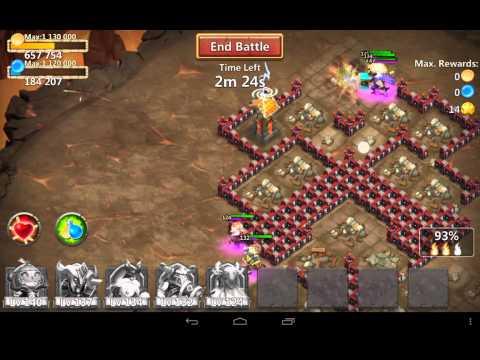Castle Clash [Farming Dungeon 8]