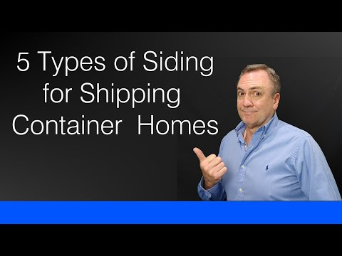 Download Decorative Siding for Container Homes