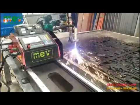 Máy cắt CNC plasma MEV 1500Plus lắp đặt tại Long Xuyên, An Giang