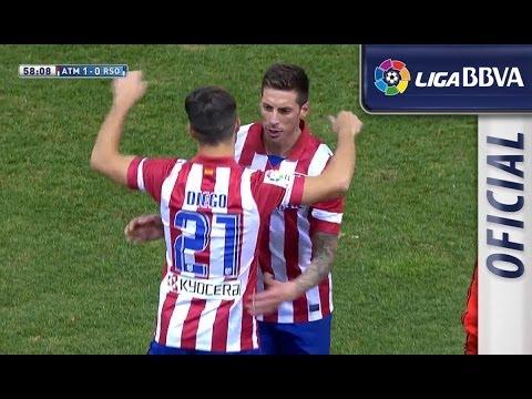 Seguimiento y gol de Diego Ribas