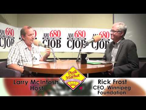 Food and Friends with Larry McIntosh & Rick Frost, Winnipeg Foundation