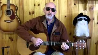 Jim Bruce Acoustic Blues Guitar - Scrapper Blackwell - Back Door Woman