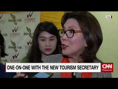 One-on-one with Tourism Secretary Bernadette Romulo-Puyat