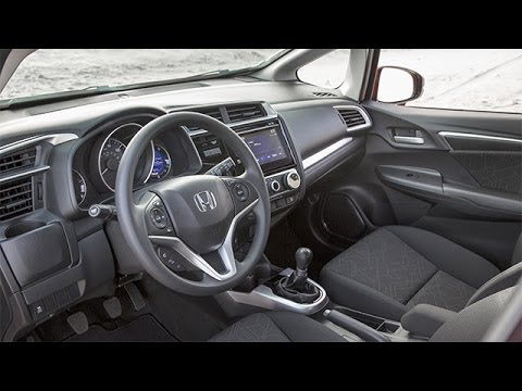 2015 Honda Fit Interior Review Youtube