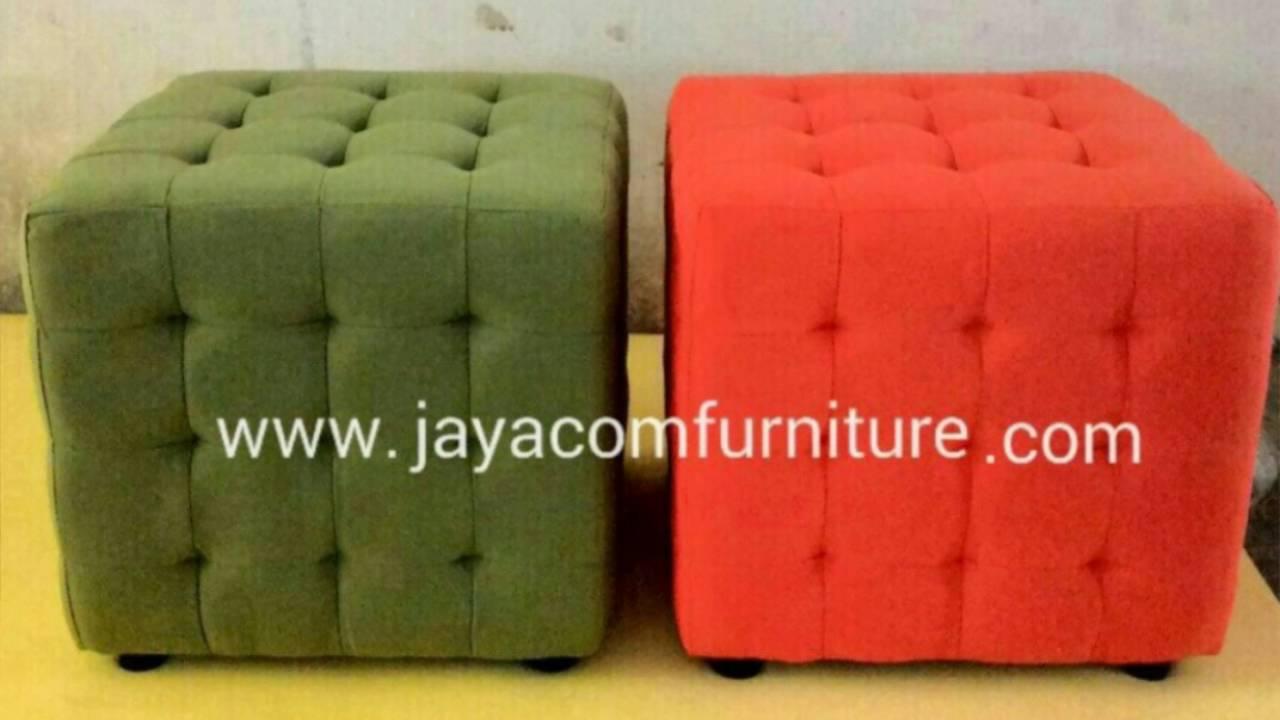 Bikin Sofa Kotak Puff Tlp WA 081809558877 YouTube