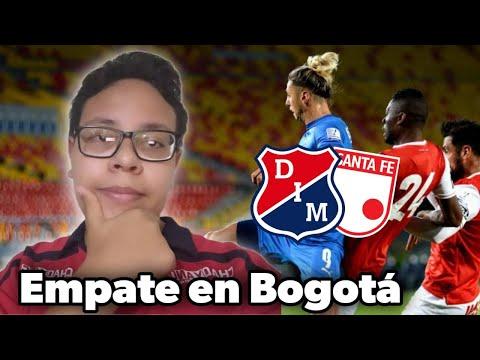 Santa fe 0 VS Medellín 0 | Liga Betplay 2021