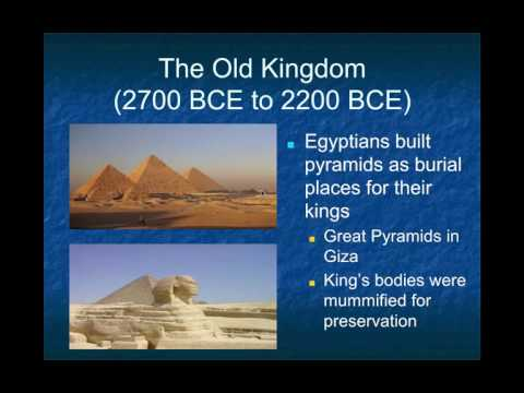 AP World History: Period 1: Ancient Egypt Part I