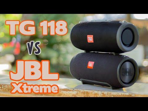 TG 118 vs JBL Xtreme Speaker