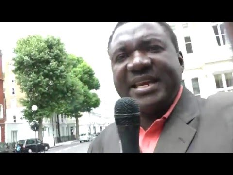 Demand for Reparation Payment by England Andy Lumeh Evangelist London SW7