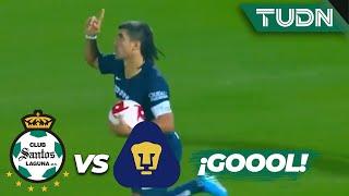 ¡Increíble, Pumas anota de último minuto! | Santos 4 - 2 Pumas | Copa MX - 8vos Ida | TUDN