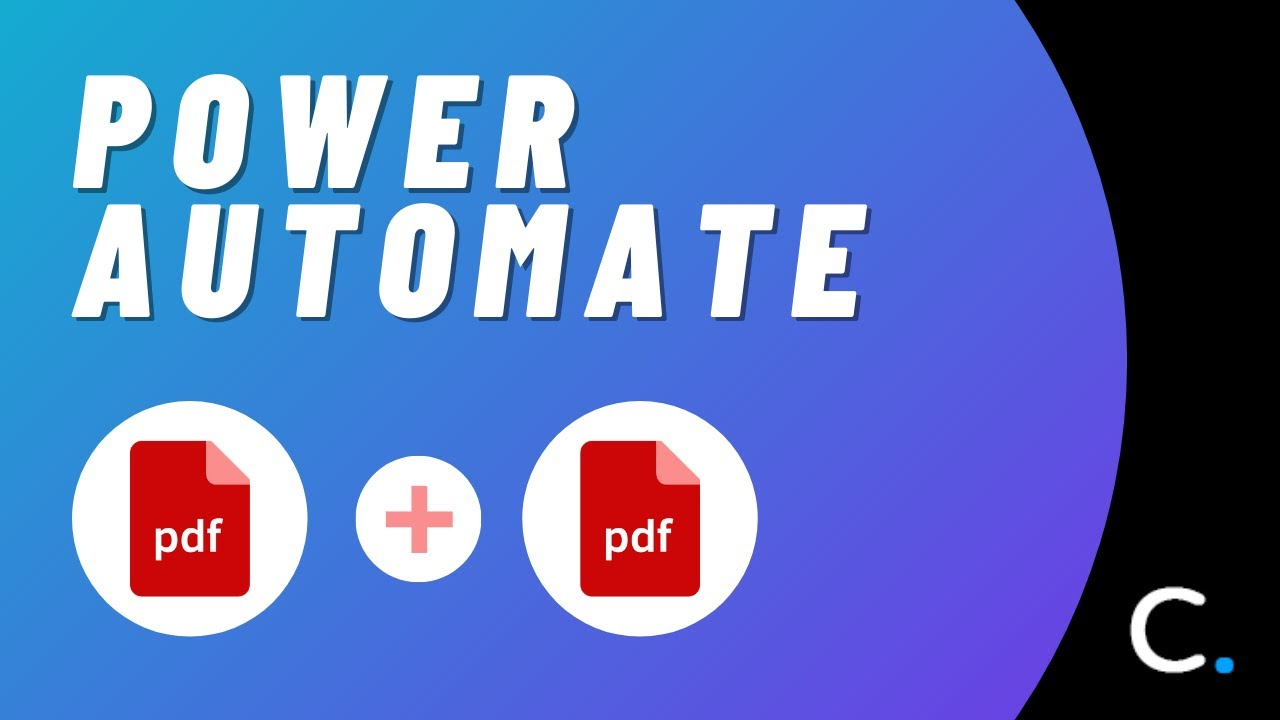 Merge PDF Documents in Power Automate and Logic Apps