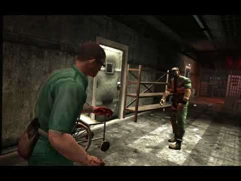 Manhunt 2 PC * Adult Only Uncut Version* - Level 1 Gameplay Part 1 - HD
