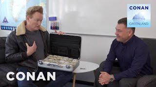 Conan Negotiates With Greenland