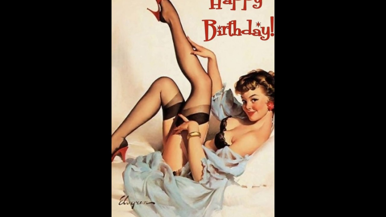 Birthday greeting sexy