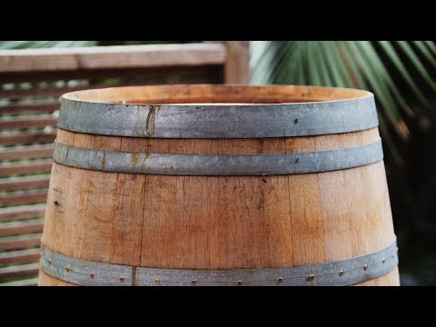 How to make a wine barrel smoker (Part 1/2)