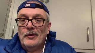 Marty Lange reviews the BK napkin  👑 #burgerking 🍔 #nymets #artielange