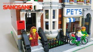 레고크리에이터 펫샵 10218 애완동물상점(LEGO PETSHOP Speed Build)리뷰/언박싱/조립