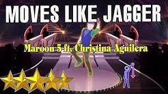 🌟 Christina Aguilera  & Maroon 5 - Moves Like Jagger | Just Dance 4 🌟
