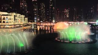 Dubai Fountain - Mon Amour - Fairouz li beirut