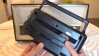 Functional Testing Radio Telefunken de Luxe 1261 ,  Sony ICF- 760S