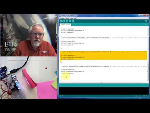 Arduino with Python LESSON 4: Measuring Color and Position for a Virtual World