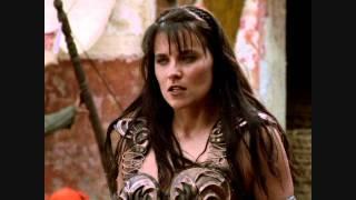 Xena and Gabrielle -