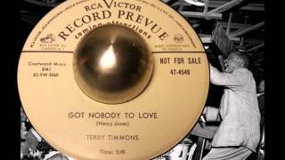Terry Timmons- Got Nobody To Love- RCA Victor