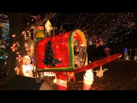 Etats unis richmond capitale des illuminations de no l youtube - Illumination maison noel ...