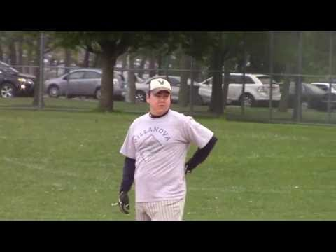 GEAM vs NBC Sports Group - Men's Spring Softball League - Kosciuszko Park - May 18, 2016