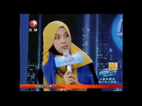ShilaAmzah茜拉-Speak in Chinese, Full Interview at Dragon's TV Shanghai Part 1