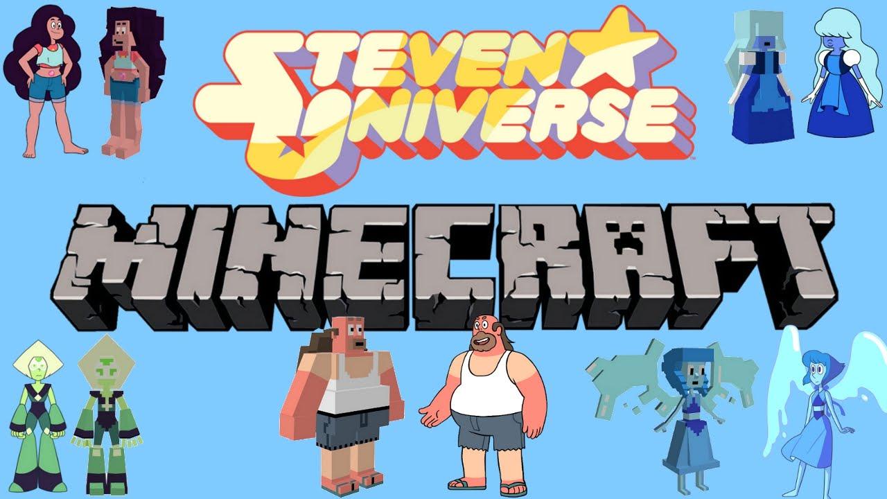 Steven Universe Minecraft Update 1 Still Working On It