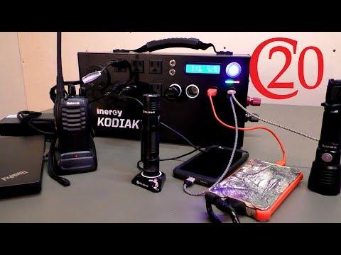 Inergy Kodiak Solar Generator – Power for Emergencies