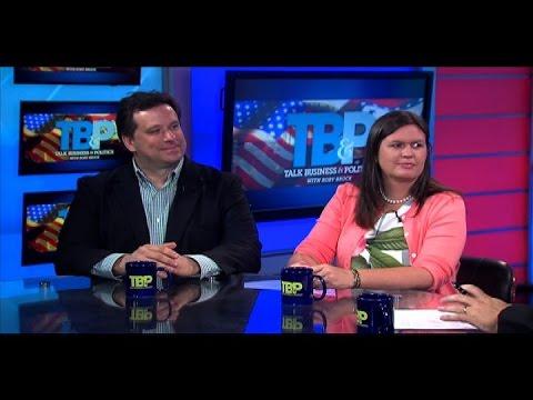 Sarah Huckabee Sanders and Michael Cook 7.10.16