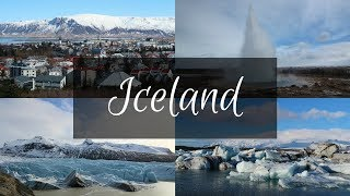 Our Trip to Iceland | March 2017 | Travel Vlog