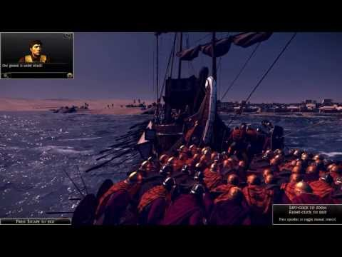 Rome Total War 2 Viking Port Assault  SUEBI |