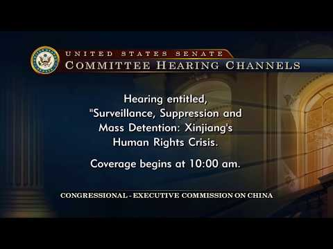 Hearing on Surveillance, Suppression, and Mass Detention: Xinjiang's Human Rights Crisis