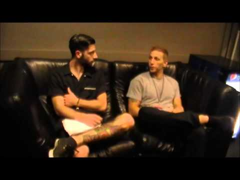 THE CONTORTIONIST's MICHAEL LESSARD INTERVIEW BACKSTAGE PITTSBURGH STAGE AE