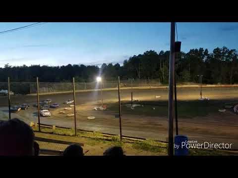 Mini Stock Heat #1 Hilltop Speedway June 14th 2019