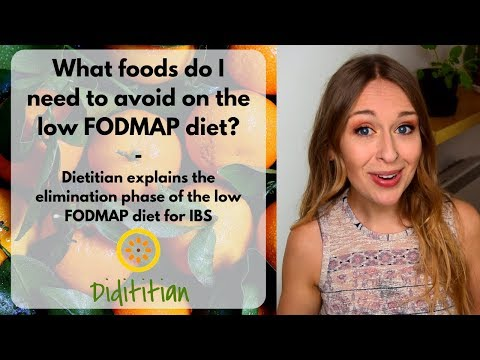 What foods do I need to avoid on the low FODMAP diet for IBS? Elimination phase | Dietitian