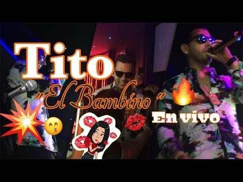 Tito el Bambino en Vivo Giggles Night Club