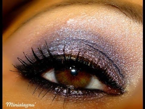 Make Up Tutorial - Hot Lavender ( Bellàpierre Mineral Cosmetics )