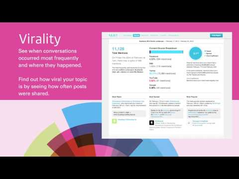 Social Media Reporting from Business Wire and NUVI