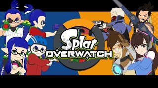 SplatOverwatch [Splatoon VS Overwatch Animation]
