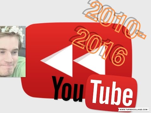 Youtube Rewind 2010-2016 | 2010 2011 2012 2013 2014 2015 2016 | Extras | Viral Video | Full HD