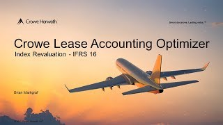 IFRS 16 - Index Revaluation