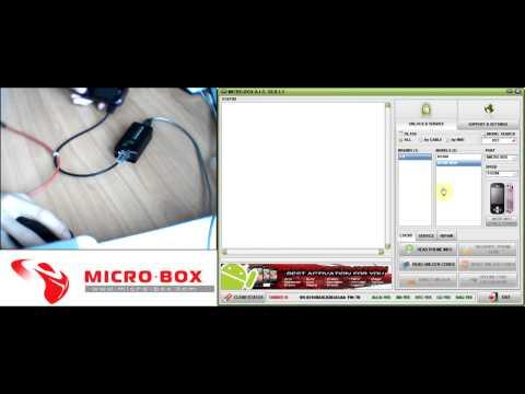 LG KS360 Read unlock codes with Micro-box - www.micro-box.com