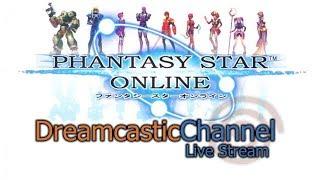 Phantasy Star Online | Dreamcast Online Multiplayer | Live Stream | 11/17/2018