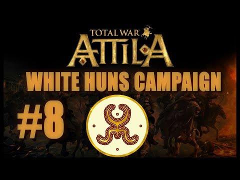 Total War: Attila - White Huns Campaign #8